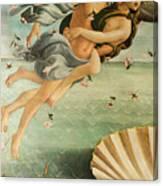 Wind God Zephyr Canvas Print