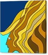 Wind Goddess Canvas Print