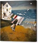 Wind Of Change. Canvas Print
