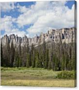 Wind River Mountains Canvas Print