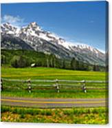 Wind River Range In West Central Wyoming - 04 Canvas Print