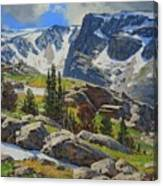 Wind River Range-wyoming Canvas Print