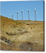 Wind Turbines Canvas Print