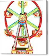 Wind-up Ferris Wheel Canvas Print