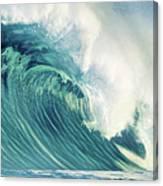 Wind Waves Canvas Print