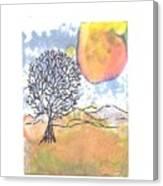 Windblown 7 Canvas Print