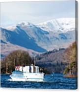 Windermere Cruise Canvas Print