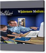 Windermere Medium Canvas Print