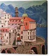 Winding Roads Of Italy Canvas Print