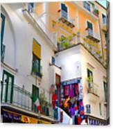 Winding Through Amalfi Canvas Print