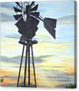 Windmill Capture The Wind Canvas Print