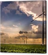 Windmill Farm Canvas Print