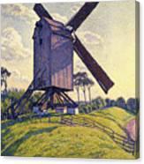 Windmill In Flanders Canvas Print