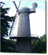 Windmill In Golden Gate Park Canvas Print