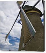 Windmill In Motion Canvas Print