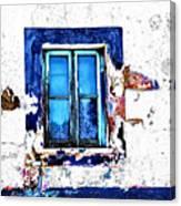 Window 17 Canvas Print