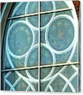 Window Artistic Canvas Print