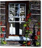 Window At Upper Canada Village Canvas Print