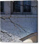 Window Blue - 1 Canvas Print