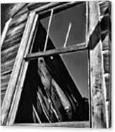 Window But No Roof Canvas Print