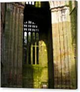 Window Entrance Canvas Print