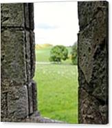 Window From The Past And Into The Future Canvas Print
