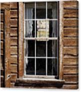Window In A Window Canvas Print