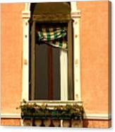 Window In Venice Canvas Print