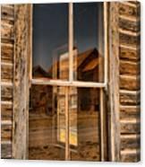 Window Into The Montana Past Canvas Print