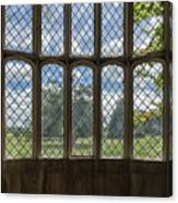 Lacock Abbey Wales Canvas Print