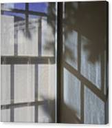 Window Lines Canvas Print