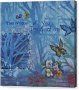 Window of Imagination Canvas Print