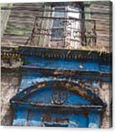 Window On Side Street Quezaltenango Guatemala Canvas Print