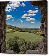 Window On The Past Canvas Print
