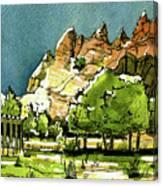 Window Rock Arizona Canvas Print