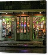 Window Shopping, French Quarter, New Orleans Canvas Print