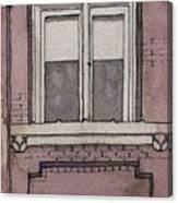 Window Study 3 Canvas Print
