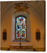 Window Teda Church Canvas Print