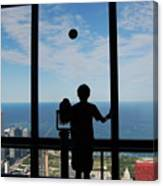 Window To Discovery Canvas Print