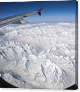 Window To Himalaya Canvas Print