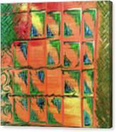Window To The Garden Canvas Print