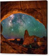 Window To The Heavens Canvas Print