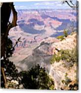 Window To The Past 1 - Grand Canyon Canvas Print