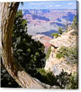 Window To The Past 21 - Grand Canyon Canvas Print