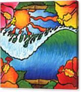Window To The Tropics Canvas Print