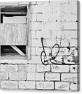 Windows And Tags Canvas Print