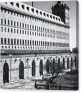 Windows Of El Escorial Spain Canvas Print