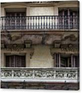 Windows Over Barcelona Canvas Print