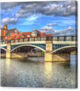 Windsor Bridge River Thames Canvas Print