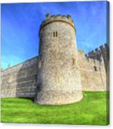 Windsor Castle Battlements  Canvas Print